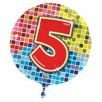 Helium Ballon 5 Jaar 43cm leeg