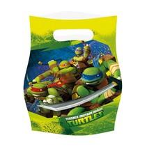 Ninja Turtles Uitdeelzakjes 6 stuks