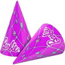 Barbie Hoedjes Versiering 6 stuks