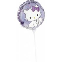 Charmmy Kitty Ballon op stokje 23cm