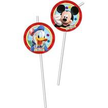 Mickey Mouse Rietjes 6 stuks