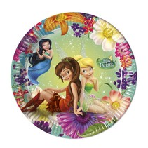 Tinkerbell Gebaksbordjes Fairies 20cm 8 stuks