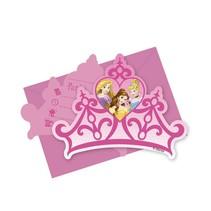 Disney Prinsessen Uitnodigingen Versiering 6 stuks