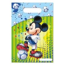 Mickey Mouse Uitdeelzakjes Versiering 6 stuks