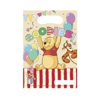 Winnie The Pooh Uitdeelzakjes Feest 6 stuks