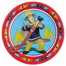 Fireman Sam Borden 23cm 8 stuks