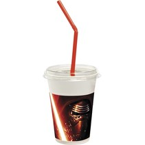 Star Wars The Force Awakeness Bekers Deluxe 200ml 12 stuks