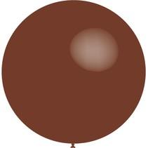 Chocolade Bruine Reuze Ballon XL 91cm