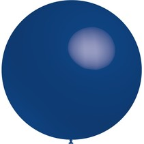 Donkerblauwe Reuze Ballon XL 91cm