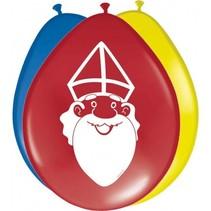 Sint Ballonnen 8 stuks