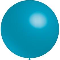 Turquoise Reuze Ballon 60cm