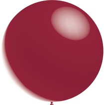 Bordeaux Rode Reuze Ballon Metallic 60cm