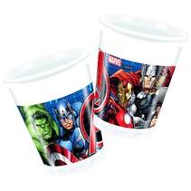 Avengers Bekers 200ml 8 stuks