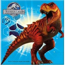 Jurassic World Servetten 20 stuks