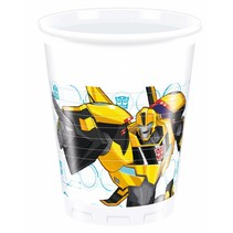 Transformers Bekers 200ml 8 stuks