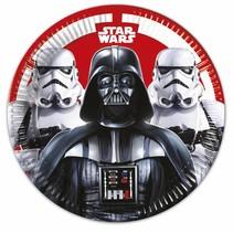 Star Wars Borden 23cm 8 stuks