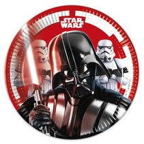 Star Wars Gebaksbordjes 20cm 8 stuks