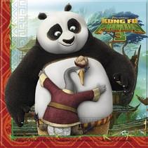 Kung Fu Panda Servetten 20 stuks