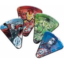 Avengers Pizza Borden 23cm 8 stuks