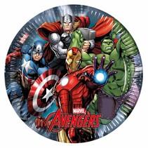 Avengers Borden Feest 23cm 8 stuks