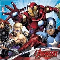 Avengers Servetten Mighty 20 stuks