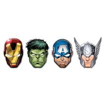 Avengers Maskers Mighty 6 stuks