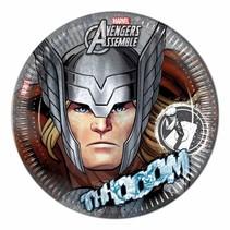 Avengers Borden Thor 23cm 8 stuks