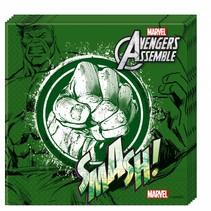 Avengers Servetten Hulk 20 stuks