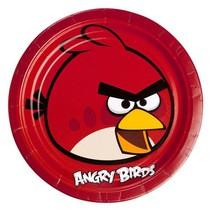 Angry Birds Borden Versiering 23cm 8 stuks