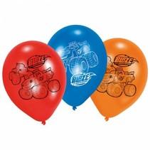 Blaze en de Monsterwielen Ballonnen 23cm 6 stuks