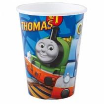 Thomas de Trein Bekers 266ml 8 stuks