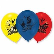 Avengers Ballonnen 23cm 6 stuks