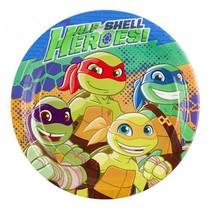 Ninja Turtles Borden Half Shell Heroes 23cm 8 stuks