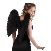 Engelen Vleugels Zwart 50cm