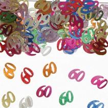 Tafelconfetti 60 Jaar 1cm 600 stuks
