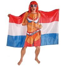 Nederlandse Vlag Poncho 150cm