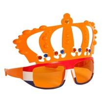 Oranje Bril Kroon Rood Wit Blauw