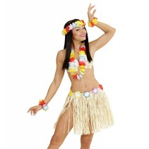 Hawaii Rokje Set Stro 5 delig