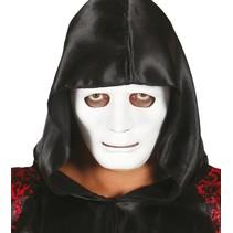 Wit Masker Deluxe voorkant