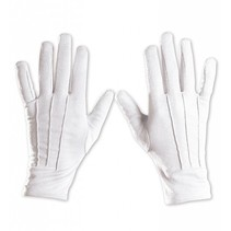 Witte Handschoenen Deluxe