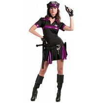 Politiepak Dames Zwart