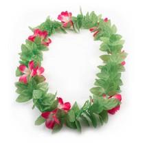 Hawaii Krans Groen/Roze