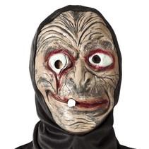 Halloween Masker Heks met capuchon volledig