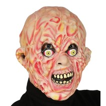 Halloween Masker Verbrand volledig