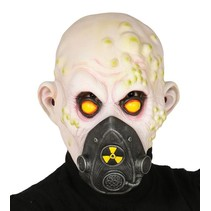Halloween Masker Nuclear Zombie volledig