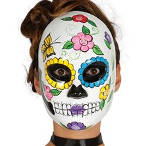 Mexicaans Masker Day of the Dead Vrouw voorkant