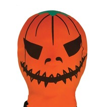 Halloween Masker Pompoen volledig