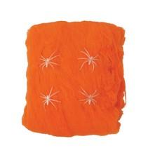 Oranje Spinnenweb met Spinnen 60 gram