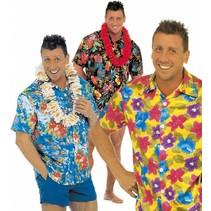 Hawaii Shirt Bloemen M/L