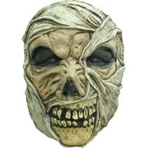 Halloween Masker Mummy Deluxe voorkant